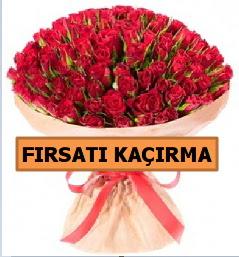SON 1 GÜN İTHAL BÜYÜKBAŞ GÜL 101 ADET  Karşıyaka çiçek siparişi sitesi