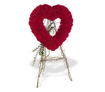 Karşıyaka çiçek siparişi sitesi  karanfillerden kalp pano