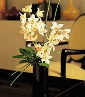 Karşıyaka internetten çiçek satışı  cam yada mika vazo içerisinde dal orkide