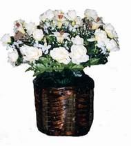 yapay karisik çiçek sepeti   Karşıyaka online çiçek gönderme sipariş