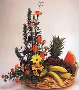 sepet  ve  meyva  sepeti   Karşıyaka çiçek yolla