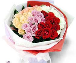 SEVENLERE ÖZEL 51 ADET GÜL  Karşıyaka çiçek siparişi sitesi