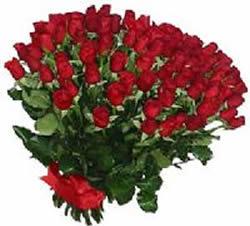 51 adet kirmizi gül buketi  Karşıyaka internetten çiçek satışı
