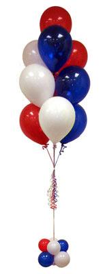 Karşıyaka ucuz çiçek gönder  Sevdiklerinize 17 adet uçan balon demeti yollayin.