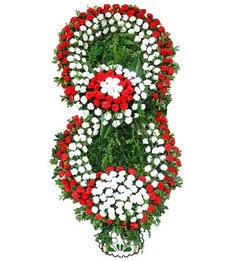 Görsel Cenaze çiçek , cenaze çiçek , çelengi  Karşıyaka cicekciler , cicek siparisi