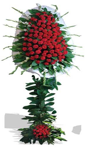 Dügün nikah açilis çiçekleri sepet modeli  Karşıyaka İnternetten çiçek siparişi