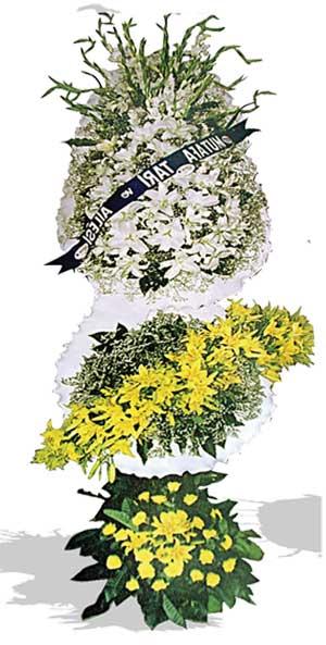 Dügün nikah açilis çiçekleri sepet modeli  Karşıyaka çiçek satışı