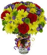 En güzel hediye karışık mevsim çiçeği  Karşıyaka ucuz çiçek gönder