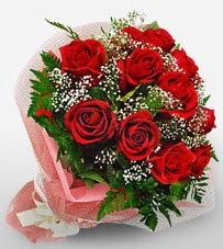 12 adet kırmızı güllerden kaliteli gül  Karşıyaka internetten çiçek siparişi