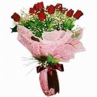 Karşıyaka çiçekçi mağazası  12 adet kirmizi kalite gül