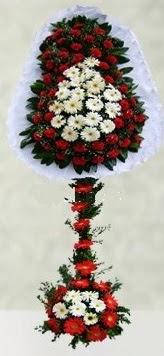 Karşıyaka çiçek siparişi sitesi  çift katlı düğün açılış çiçeği