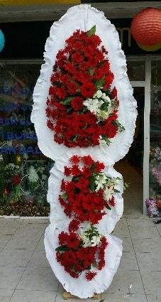 3 katlı Düğün Açılış Nikah Çiçeği  Karşıyaka internetten çiçek satışı