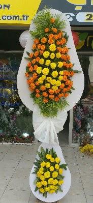 Çift katlı düğün Nikah İşyeri Açılış çiçek  Karşıyaka hediye çiçek yolla