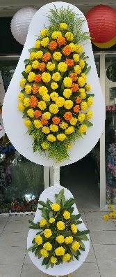Karşıyaka 14 şubat sevgililer günü çiçek  Çift katlı düğün Nikah İşyeri Açılış çiçek