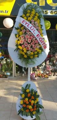 Karşıyaka çiçekçi mağazası  Açılış Düğün çiçek modeli