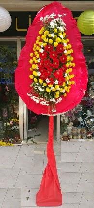 Karşıyaka çiçekçi mağazası  Tek katlı düğün nikah çiçeği