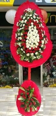Çift katlı düğün çiçekleri  Karşıyaka çiçek online çiçek siparişi