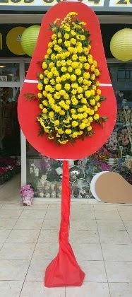 Karşıyaka çiçek siparişi vermek  Tek katlı düğün nikah çiçeği
