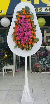 Tek katlı düğün nikah açılış çiçeği  Karşıyaka çiçekçi mağazası