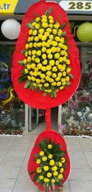 Çift katlı düğün nikah açılış çiçeği  Karşıyaka çiçekçiler