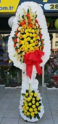 Çift katlı düğün nikah açılış çiçeği  Karşıyaka kaliteli taze ve ucuz çiçekler