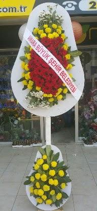 Çift katlı düğün nikah açılış çiçek modeli  Karşıyaka hediye çiçek yolla