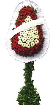 Çift katlı düğün nikah açılış çiçek modeli  Karşıyaka çiçek yolla , çiçek gönder , çiçekçi