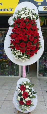 Çift katlı düğün nikah işyeri açılış çiçeği  Karşıyaka çiçek yolla , çiçek gönder , çiçekçi