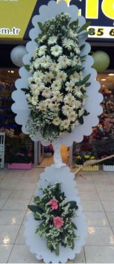 Çift katlı düğün nikah açılış çiçeği  Karşıyaka çiçek gönderme