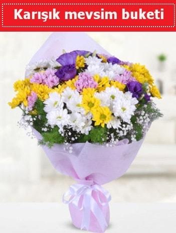 Karışık Kır Çiçeği Buketi  Karşıyaka kaliteli taze ve ucuz çiçekler