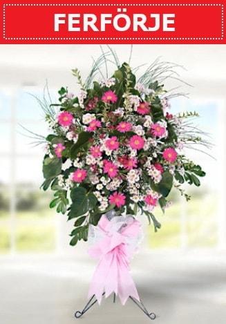 Ferförje düğün nikah açılış çiçeği  Karşıyaka çiçek gönderme sitemiz güvenlidir